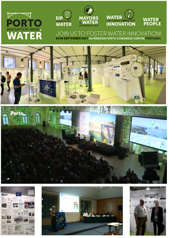 LIFE PharmDegrade was present at Porto Water Innovation Week