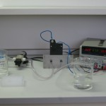 laboratory scale experiments electrolytic cell PharmDegrade